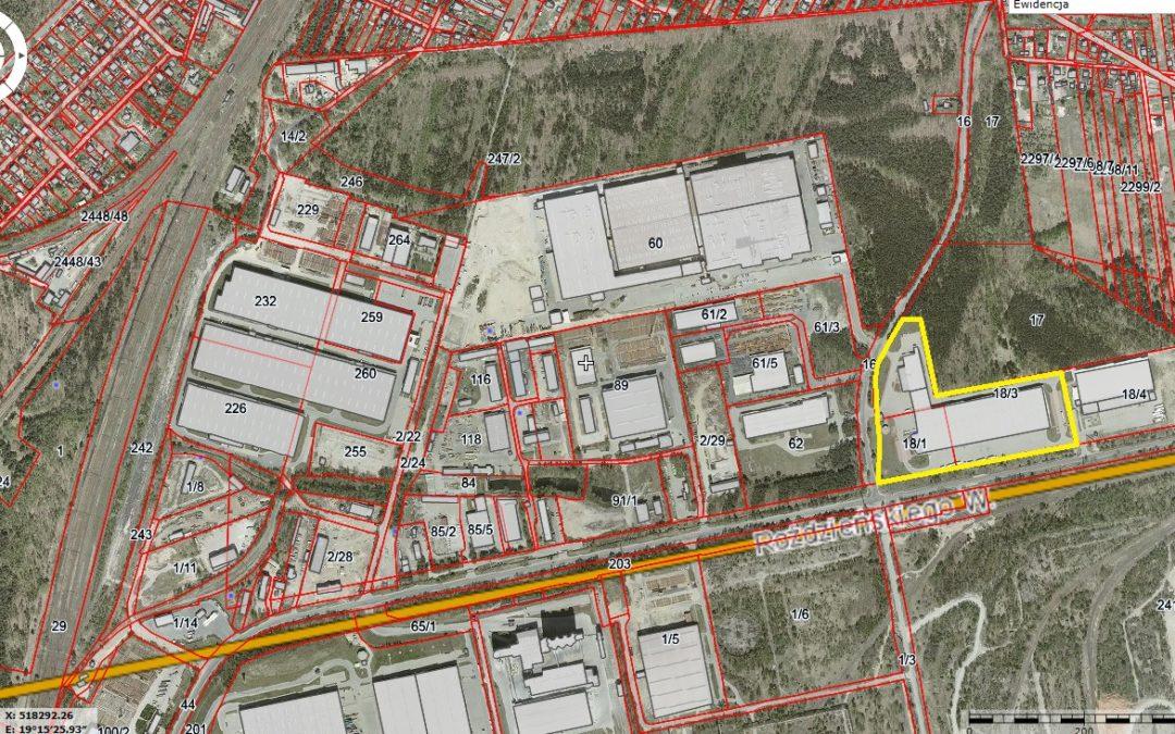 Nieruchomość zabudowana przy ul. Roździeńskiego 19