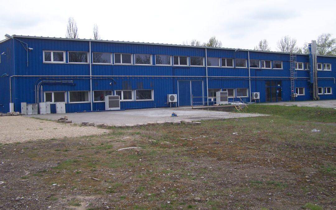 Hala magazynowo- produkcyjna przy ul. Przybylaka