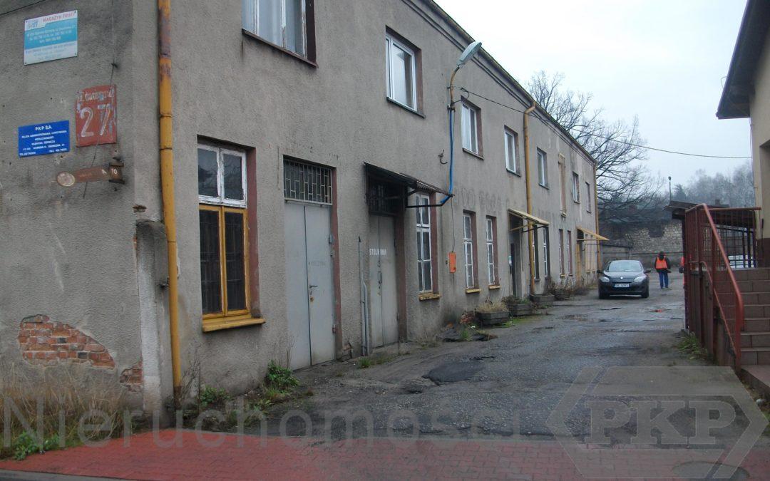 Nieruchomość zabudowana przy ul. Dworcowej 27