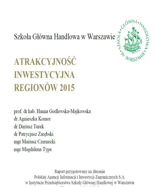 Raport Atrakcyjności Inwestycyjnej...