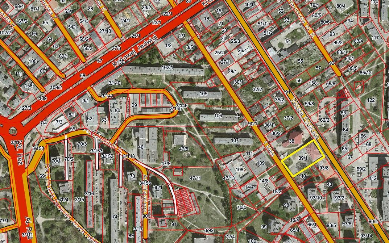 WOJSKA POLSKIEGO – nieruchomość gruntowa zabudowana przeznaczona pod zabudowę usługową użyteczności publicznej