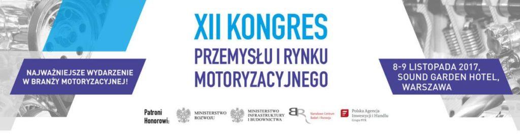 XII Kongres Przemysłu i Rynku Motoryzacyjnego – SAVE THE DATE