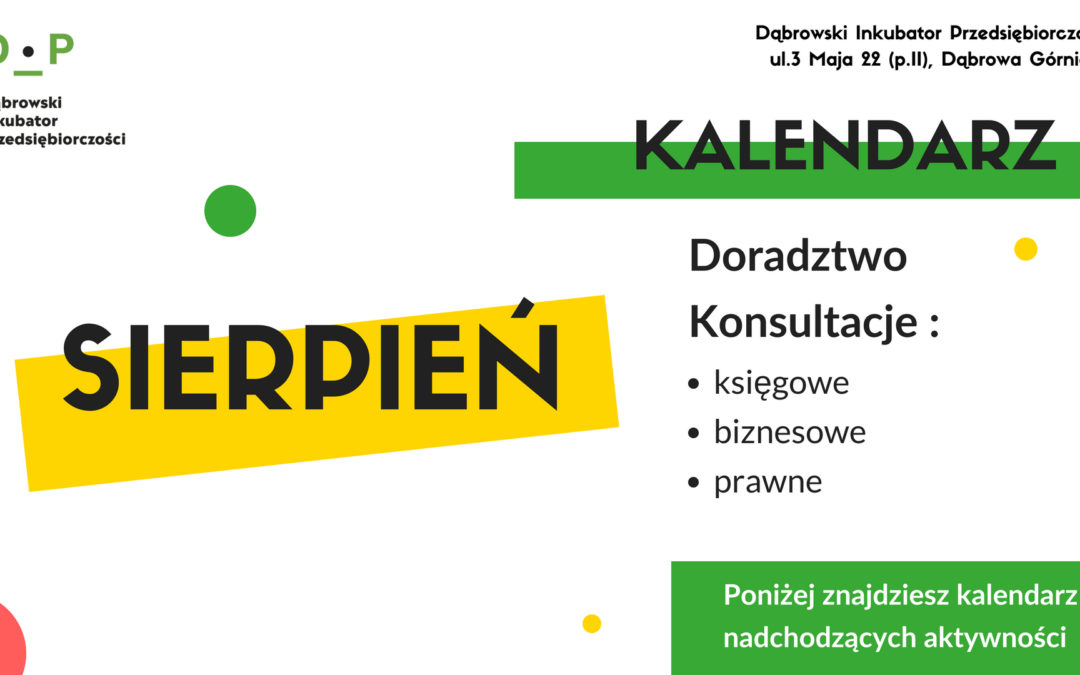 Dąbrowski Inkubator Przedsiębiorczości zaprasza na konsultacje