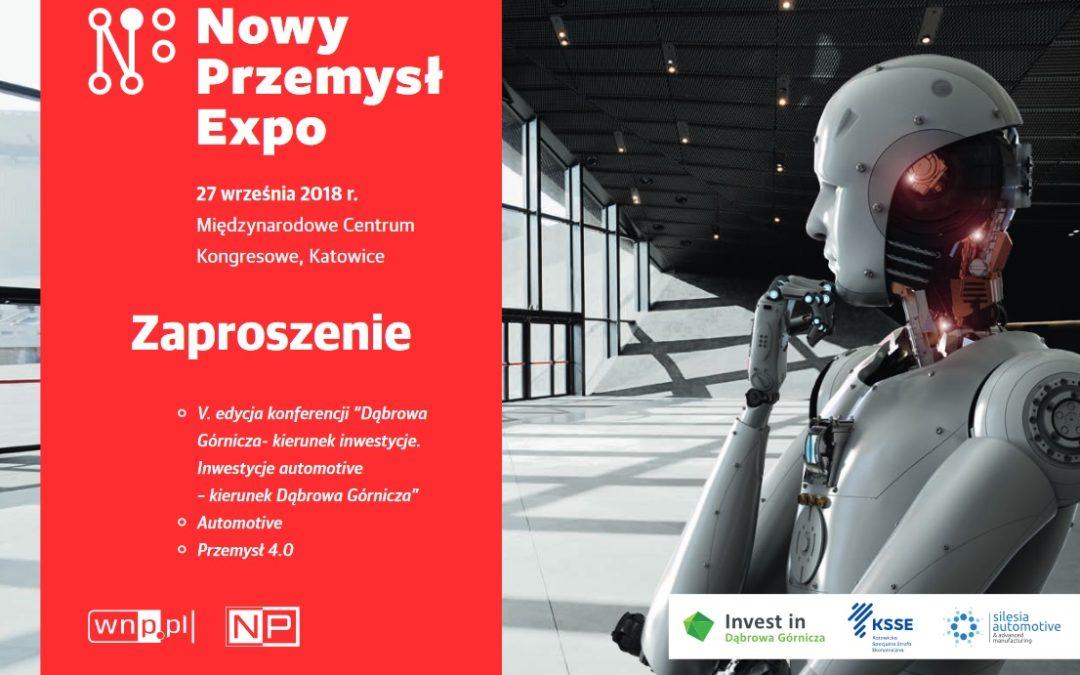 Spotkanie nowego przemysłu, technologii i biznesu w Katowicach. Trwa rejestracja na Nowy Przemysł Expo!