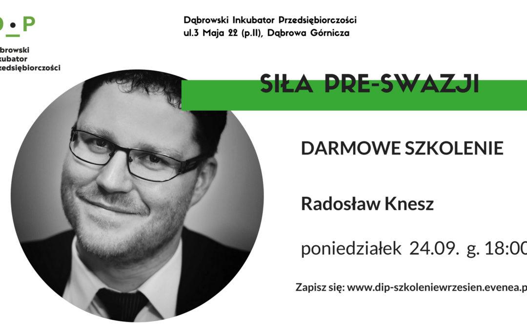 Dąbrowski Inkubator Przedsiębiorczości zaprasza na bezpłatne szkolenie