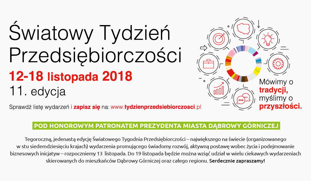 Światowy Tydzień Przedsiębiorczości w Dąbrowie Górniczej