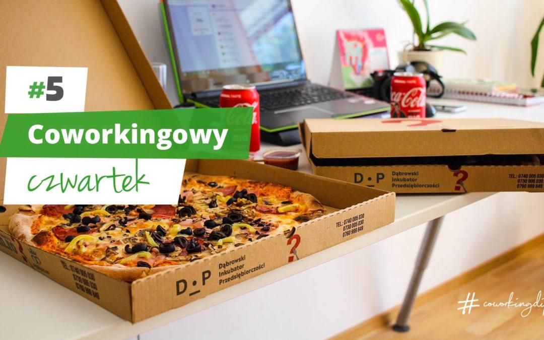 Coworkingowy czwartek w DIP #5 Pizza time!
