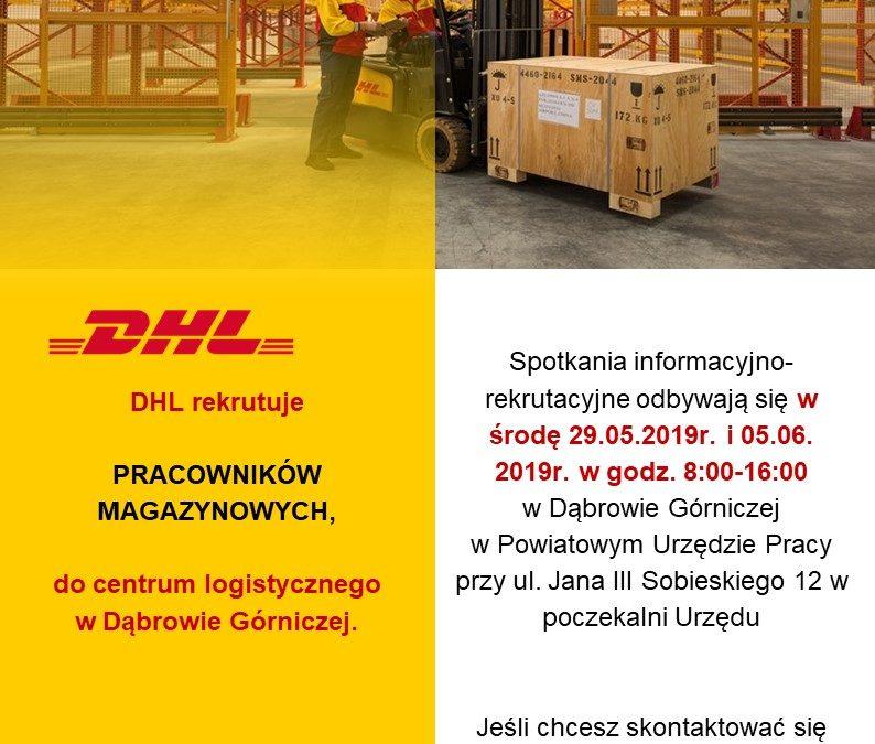 DHL rekrutuje pracowników magazynowych do centrum logistycznego w Dąbrowie Górniczej
