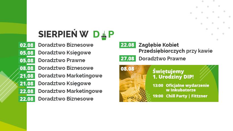Sierpniowe konsultacje w Dąbrowskim Inkubatorze Przedsiębiorczości