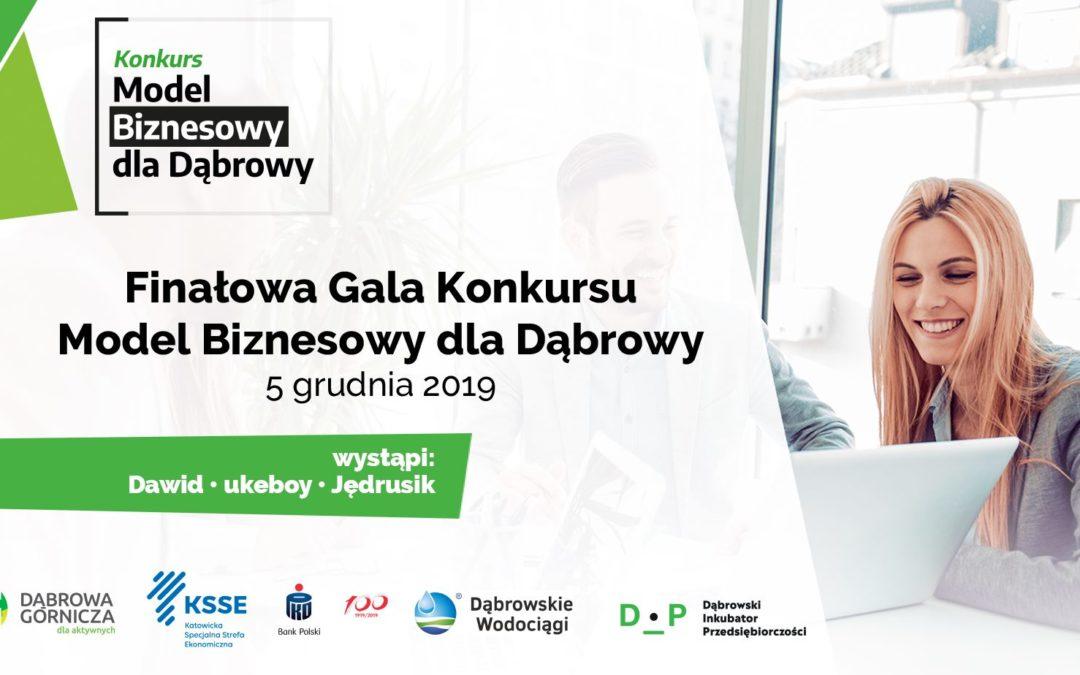 Finałowa Gala Konkursu Model Biznesowy dla Dąbrowy