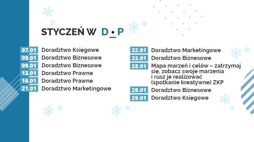 Styczniowe konsultacje w Dąbrowskim Inkubatorze Przedsiębiorczości