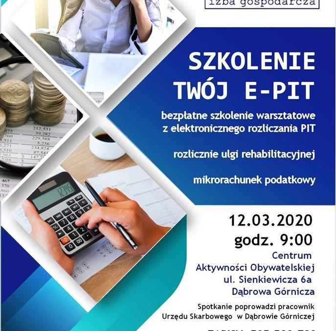 Szkolenie dotyczące e-PIT