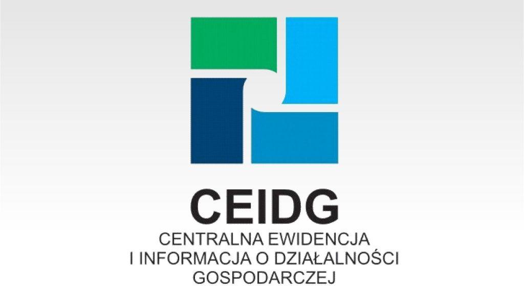 #ZOSTANWDOMU, Złóż wniosek w CEIDG bez wychodzenia z domu
