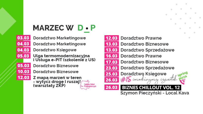 Marcowe konsultacje w Dąbrowskim Inkubatorze Przedsiębiorczości