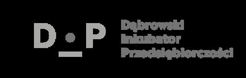 Logo Dąbrowski Inkubator Przedsiębiorczości mono