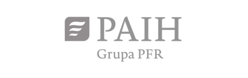 Logo PAIH Grupa PFR mono