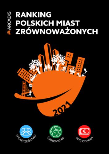Okładka publikacji Ranking Polskich Miast Zrównoważonych